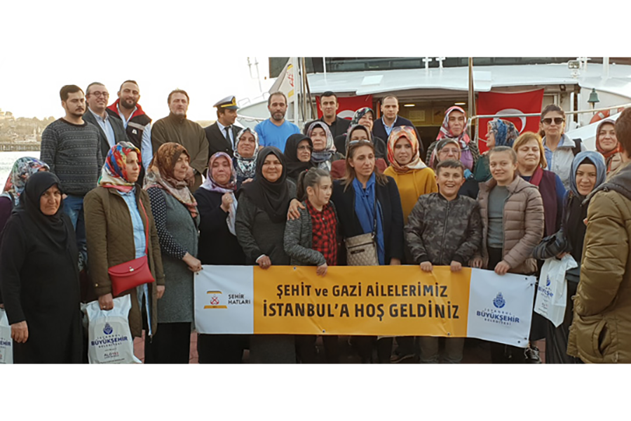 Şehit Ve Gazi Ailelerine Boğaz Turu
